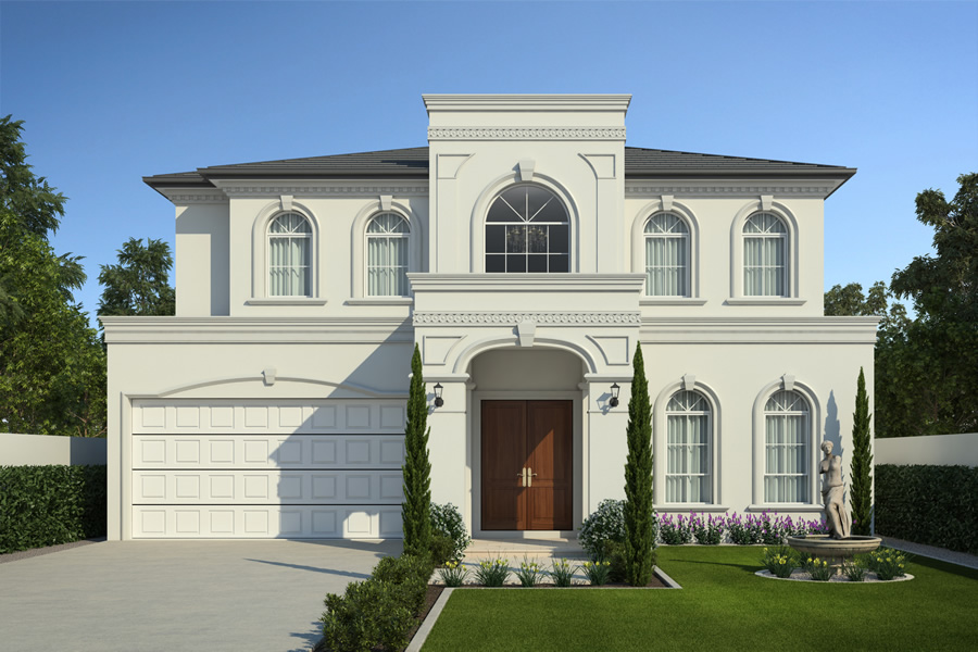 Design concepts charleston homes for Luxury home architect